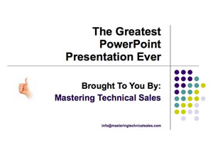 The Greatest PPT Presentation Ever