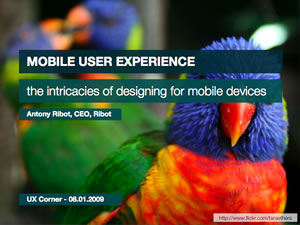 Mobile UX – the intricacies of designing for mobile devices