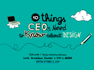 Ten Things CEO's Need to Know About Design