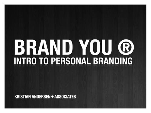 Brand You: Intro To Personal Branding | Note & Point