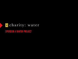 charity: water &#8211; Sponsor A Well