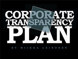 Corporate Transparency Plan