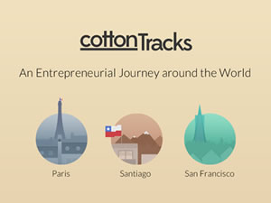 cottonTracks – An Entrepreneurial Journey Around the World