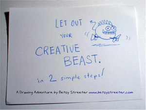 Let Out Your Creative Beast