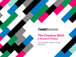 The Creative Brief: A Research Project