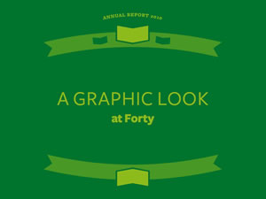 Annual Report 2010 &#8211; A graphic look at Forty