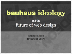 Bauhaus Ideology and the Future of Web Design