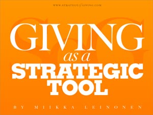 Giving as a Strategic Tool