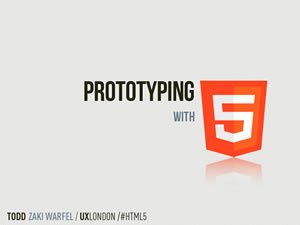 Prototyping with HTML5