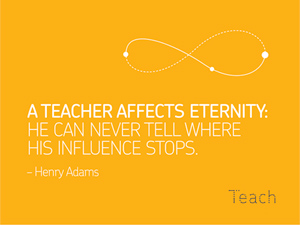 Teach: Rebranding Teachers
