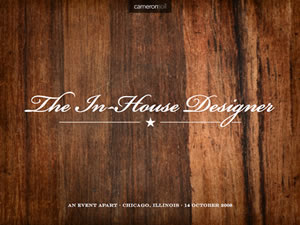 The In-House Designer