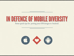 In Defense of Mobile Diversity