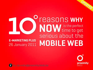 Why you should get serious about the mobile web