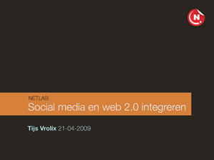 Social media and web 2.0 integration