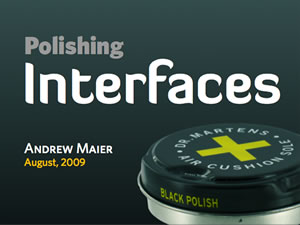 Polishing Interfaces