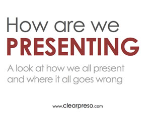 How are we Presenting? A survey on all things presentation related