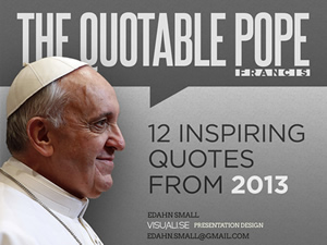 The Quotable Pope
