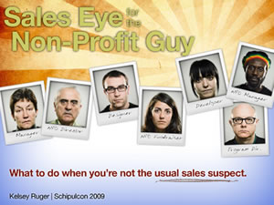 Sales Eye For The Non-Profit Guy