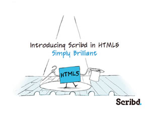Scribd in HTML5