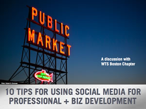 Social Media For Professional + Business Development