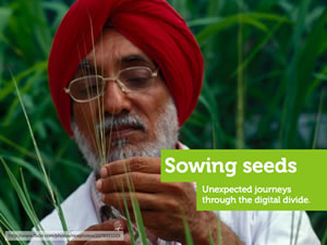 Sowing Seeds: Unexpected Journeys Through the Digital Divide