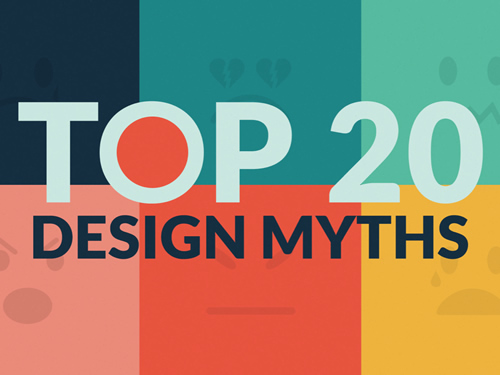top 20 design myths by lean labs note point