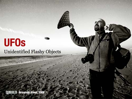 UFOs: Unidentified Flashy Objects