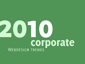 Web Design Trends for 2010