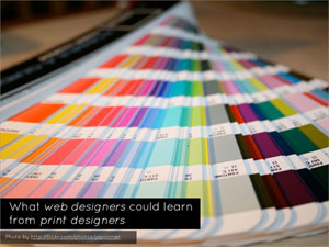 What Web Designers Can Learn From Print Design