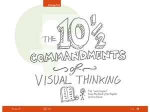 The 10-1/2 Commandments of Visual Thinking